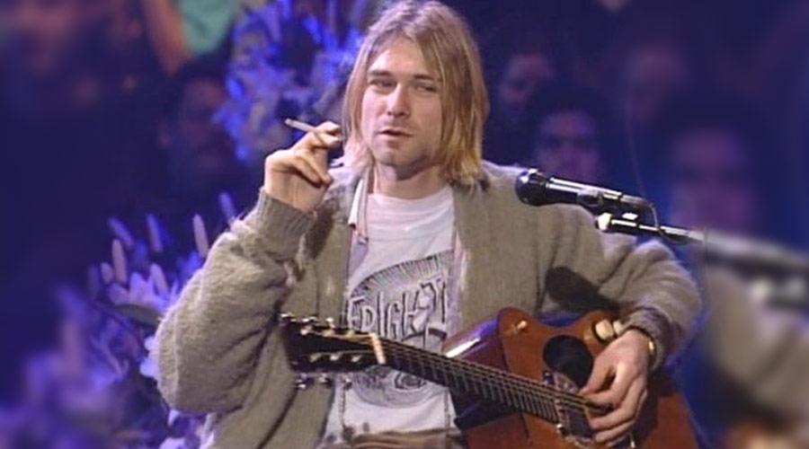 Violão que Kurt Cobain usou no MTV Unplugged do Nirvana será leiloado