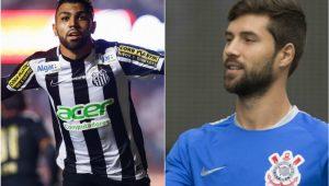 Divulgação/Santos/Corinthians