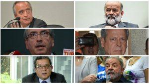 José Cruz e Fabio Rodrigues Pozzebom/Agência Brasil; Paulo Pinto/Fotos Públicas