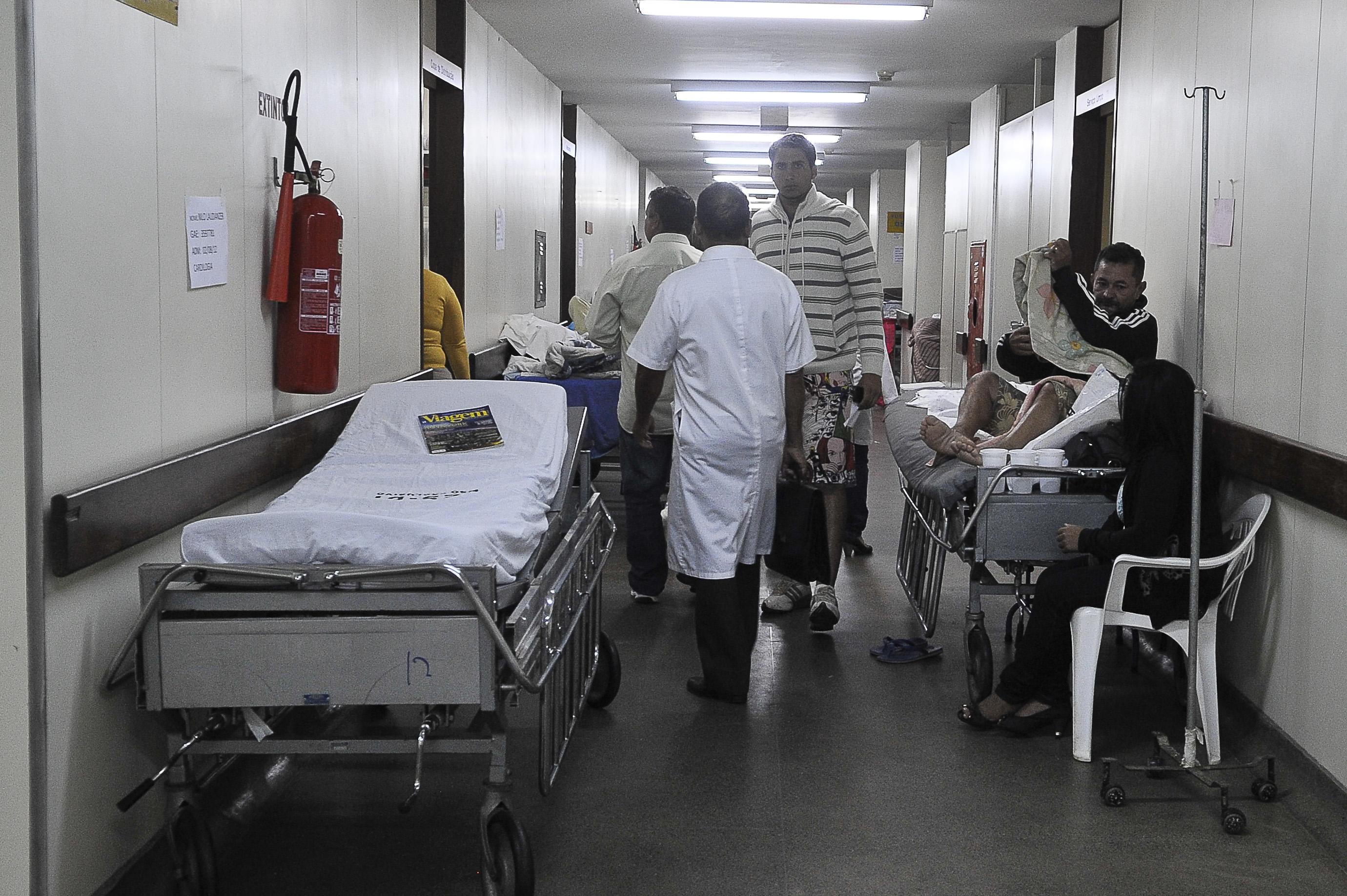 Corredor de Hospital no Distrito Federal