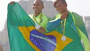 Erlon Souza e Isaquias Queiroz
