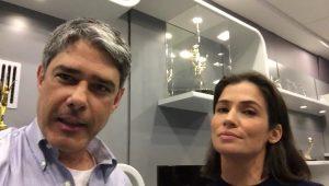 Polícia intima Bonner e Renata a depor após censura sobre esquema de 'rachadinhas'