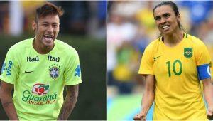 Bolsonaro chama de 'ridícula' questão do Enem que comparou salário de Marta ao de Neymar