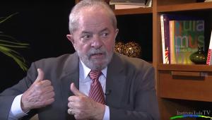 Reprodução / Instituto Lula
