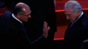 Michel Temer com Geraldo Alckmin EFE