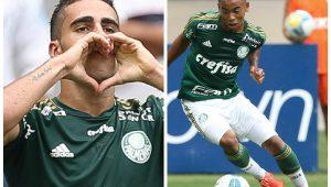 Montagem sobre Cesar Greco/Ag. Palmeiras/Divulgação