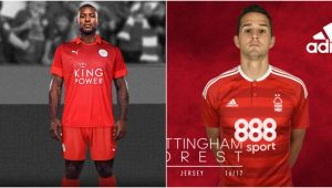 Divulgação/Leicester City e Notthingham Forest