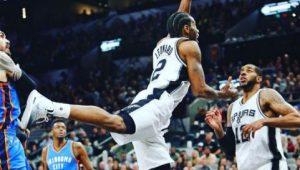 Reprodução / Instagram / San Antonio Spurs