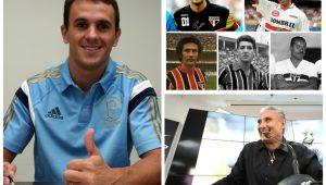 Montagem: Fabio Menotti/Agência Palmeiras/Divulgação/ Folhapress/ Site Oficial São Paulo FC