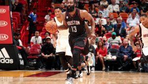 Reprodução / Twitter / Houston Rockets