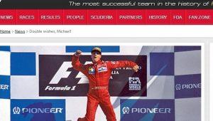 Site oficial/ Ferrari/ Reprodução