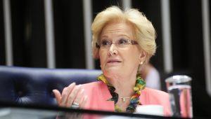 Senadora Ana Amélia é internada após crise de hipertensão