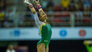 Com vaga em Tóquio, Flávia Saraiva mantém ritmo intenso de competições no ano