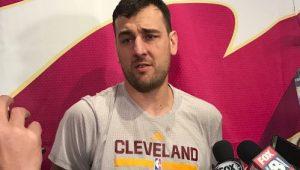 Reprodução / Twitter / Cleveland Cavaliers