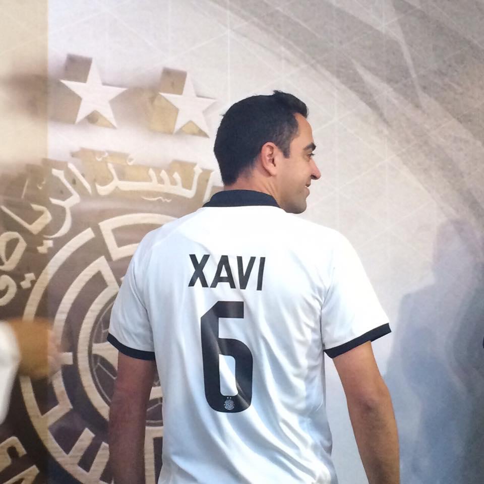 Xavi é Apresentado Oficialmente No Al Sadd E Recebe A Camisa 6 Jovem Pan