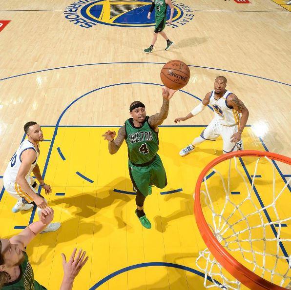 Reprodução / Instagram / Boston Celtics