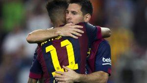 Messi defende volta de Neymar ao Barcelona: 'É um dos melhores do mundo'