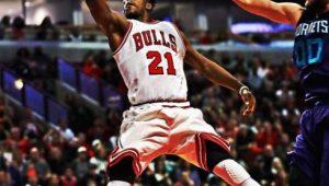 Reprodução / Twitter / Chicago Bulls