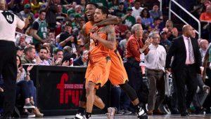 Reprodução / Twitter / Phoenix Suns
