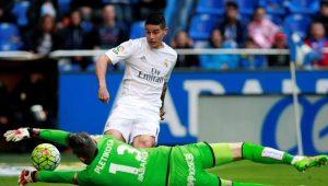 James Rodriguez pode não atuar mais pelo Real Madrid, diz imprensa espanhola