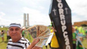 Percepção da corrupção no Brasil fica estagnada em patamar ruim, mostra Transparência Internacional