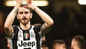Juventus anuncia renovação de contrato de Bonucci até 2024