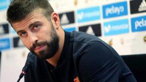 Campeonato Espanhol: Barcelona confirma lesão grave no joelho de Piqué