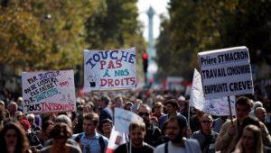 População francesa protesta contra a reforma trabalhista