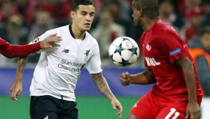 Coutinho e Fernando marcaram os únicos gols do empate Spartak Moscou 1 a 1 Liverpool