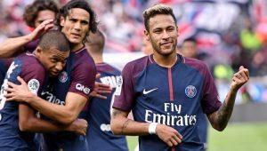 Futebol Campeonato Francês PSG Neymar Cavani