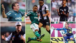 Futebol Palmeiras Santos Cuca Levir Culpi Fernando Prass Ricardo Oliveira