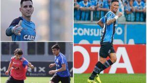 Futebol Eliminatórias Paraguai Gatito Balbuena Romero Barrios