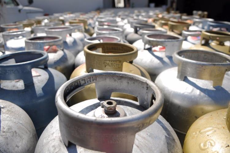 Gás de cozinha sofre reajuste de 6,9%