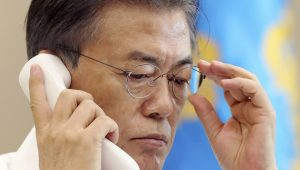 EFE/Gabinete Presidencial da Coreia do Sul