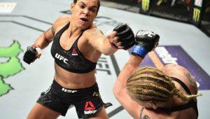 Amanda Nunes vence Spencer na luta principal do UFC 250