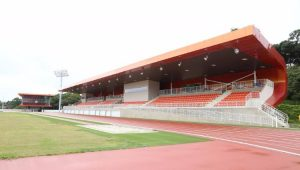 Pista de atletismo do Centro de Treinamento Paralímpico Brasileiro