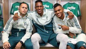Futebol Palmeiras Guerra Mina Borja