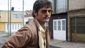 Pedro Pascal como o Agente Peña da Netflix
