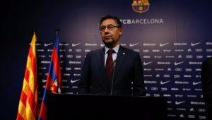 Presidente do Barcelona diz que clube investiga escândalo de redes sociais