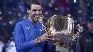 Espanhol Rafael Nadal chegou ao sexto título em 2017