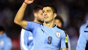 Luiz Suárez fez dois gols na vitória do Uruguai 4 a 2 Bolívia