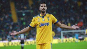Khedira fez três gols contra a Udinese