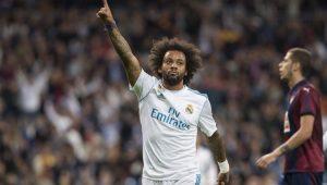 Marcelo deixou o dele na vitória do Real Madrid contra o Eibar