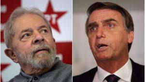 Em nova pesquisa, Lula e Bolsonaro dividem preferência do eleitor na corrida presidencial
