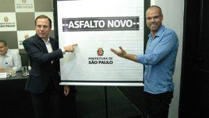 Prefeito de São Paulo, João Doria, apresenta a nova etapa do programa Asfalto Novo