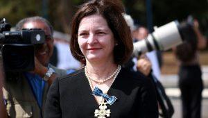 aquel Dodge (PGR) durante cerimônia de Imposição da Medalha da Ordem do Mérito Aeronáutico, em Brasília (DF)