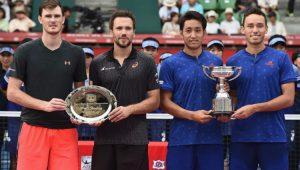 Jamie Murray e Bruno Soares perderam para os japoneses Ben McLachlan e Yasutaka Uchiyama por 2 sets a 0