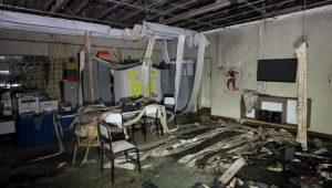 Creche Municipal Gente Inocente ficou completamente destruída após incêndio