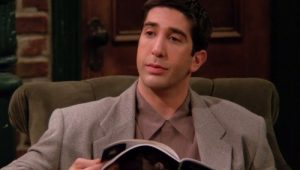 "David Schwimmer, o Ross Geller de ""Friends"""