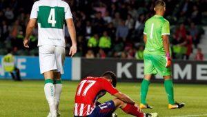 Futebol Copa do Rei Atlético de Madrid